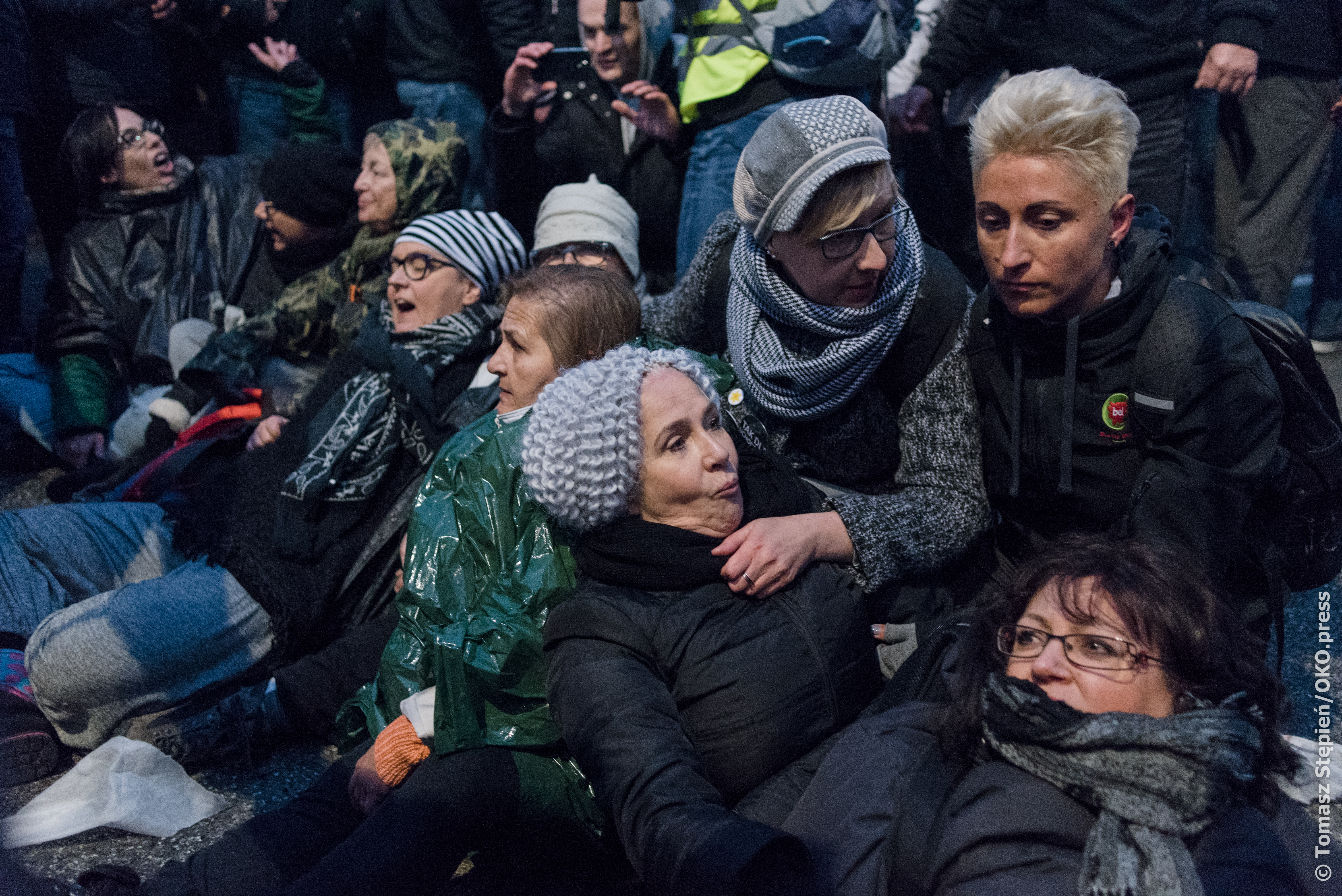 257094_Warsaw - Women who were attacked during Independence march protest on 11 November 2017.jpg